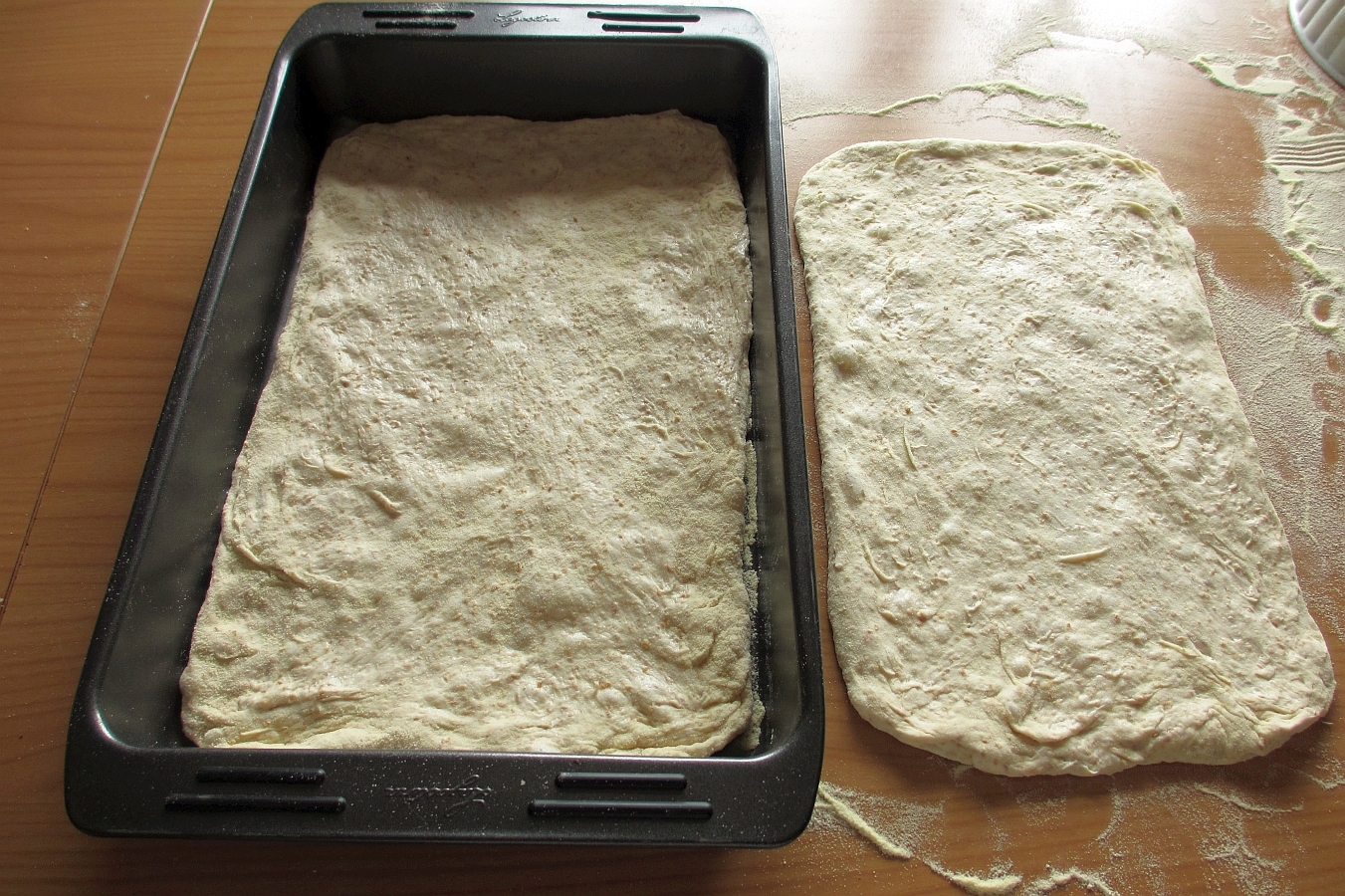 Ingredienti dell'impasto per la Pizza rustica ripiena